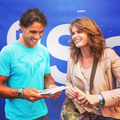 Rafa Nadal and Christine Hart